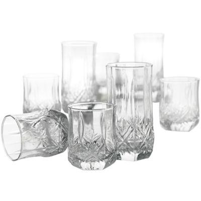 Luminarc 174 Brighton 16 Pc Glassware Set Jcpenney Color Clear