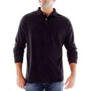 The Foundry Supply Co.™ Sueded Polo Shirt–Big & Tall