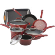 Rachael Ray® Porcelain II 10-pc. Cookware Set + BONUS Cake Pan
