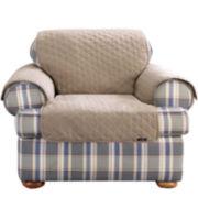 SURE FIT® Cotton Duck Chair Pet Throw