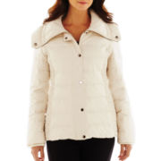 nicole by Nicole Miller® Ruched Puffer Jacket