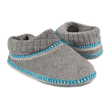 jcpenney.com | MUK LUKS® Rita Micro Chenille Bootie Slippers