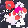 Poppies Black Prin