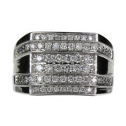 Mens 1 CT. T.W. Diamond Cluster Ring