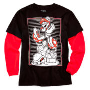 Super Mario Long-Sleeve Doubler Tee - Boys 6-18