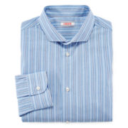 IZOD® Long-Sleeve Button-Front Striped Dress Shirt – Boys 8-20