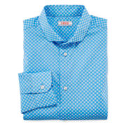 IZOD® Long-Sleeve Button-Front Bamboo-Print Dress Shirt - Boys 8-20