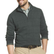 Van Heusen® Quarter-Zip Sweater