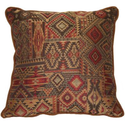 Croscill Classics® Payson Print Square Decorative Pillow
