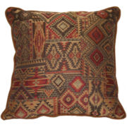 Croscill Classics® Payson Print Square Decorative Pillow