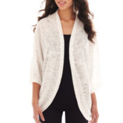 Alyx® 3/4-Sleeve Open-Front Cardigan Sweater