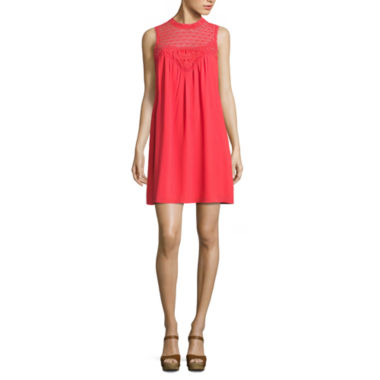 jcpenney.com | My Michelle Sleeveless Embroidered A-Line Dress-Juniors
