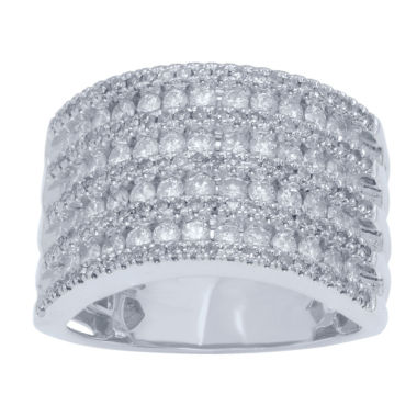 jcpenney.com | LIMITED QUANTITIES! Womens 1 1/2 CT. T.W. White Diamond 10K Gold Band
