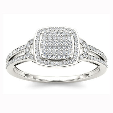 jcpenney.com | Womens 1/5 CT. T.W. Round White Diamond 10K Gold Engagement Ring