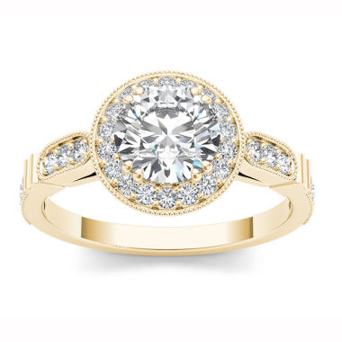 jcpenney.com | Womens 1 1/4 CT. T.W. Round White Diamond 14K Gold Engagement Ring