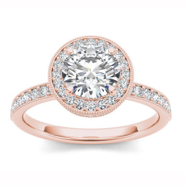 jcpenney.com | Womens 1 1/2 CT. T.W. Round White Diamond 14K Gold Engagement Ring