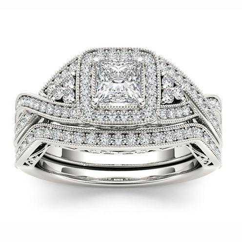 Womens White Diamond