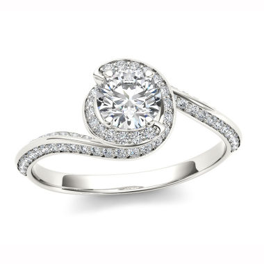 jcpenney.com | 1 CT. T.W. Round White Diamond 14K Gold Engagement Ring