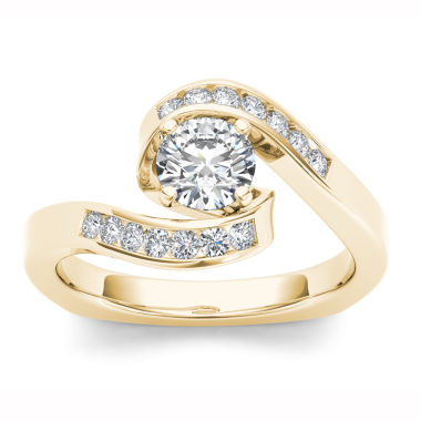 jcpenney.com | Womens 3/4 CT. T.W. Round White Diamond 14K Gold Engagement Ring