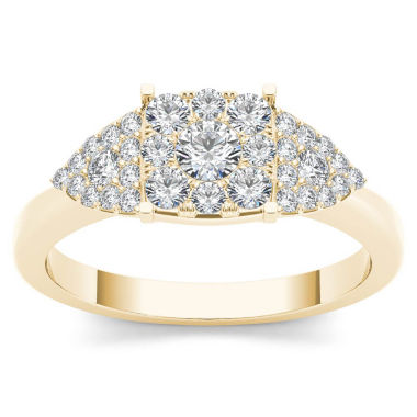jcpenney.com | Womens 1/2 CT. T.W. Round White Diamond 10K Gold Engagement Ring