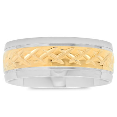 jcpenney.com | Mens 18K Stainless Steel Band