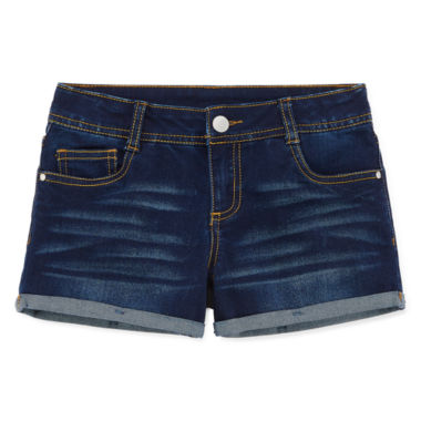 jcpenney.com | Total Girl Denim Shortie Shorts - Big Kid Girls