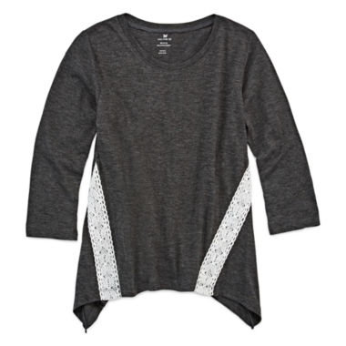 jcpenney.com | One Step Up Tunic Sharkable Croch Top - Big Kid