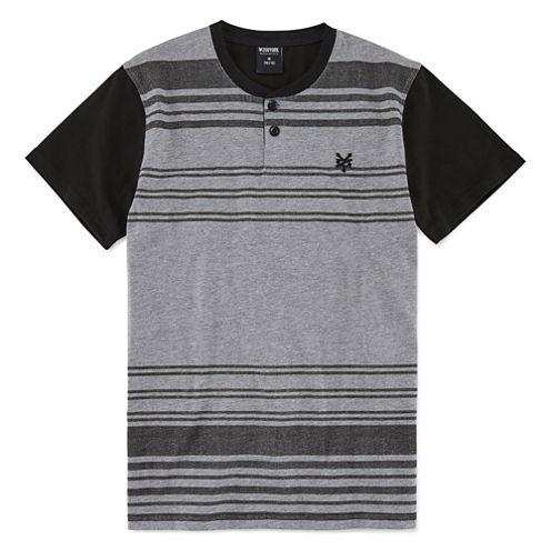 Zoo York Short Sleeve Henley Shirt - Big Kid Boys