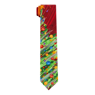 jcpenney.com | Jerry Garcia Christmas Scales 10 XL Tie