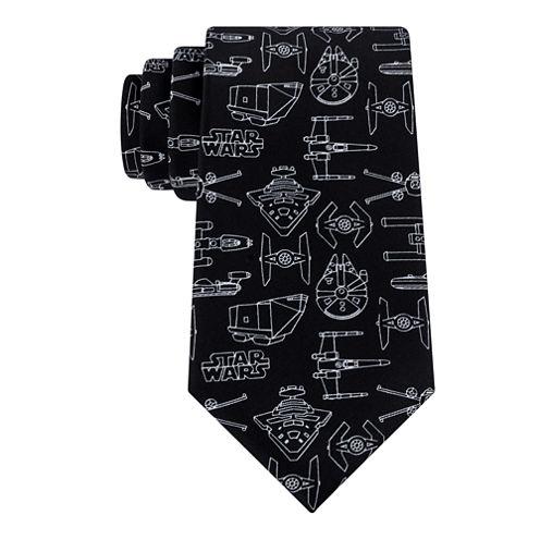 Star Wars® Line Drawing Tie
