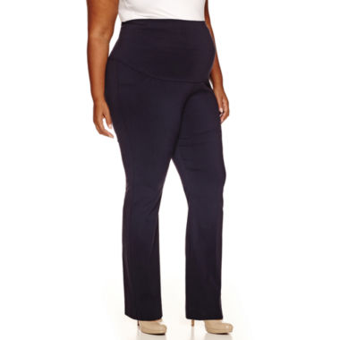jcpenney.com | Maternity Millennium Overbelly Trouser Pants - Plus