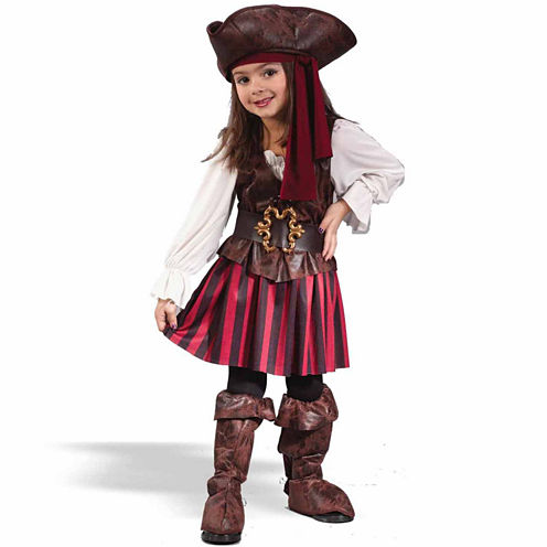 High Seas Buccaneer Girl Infant 5-pc. Dress Up Costume