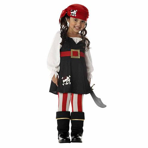 Preciouse Lil' Pirate Infant 4-pc. Dress Up Costume