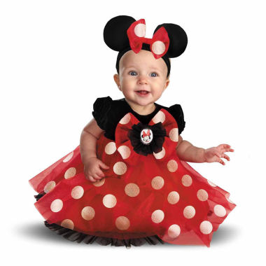 jcpenney.com | Disney Minnie Mouse Infant 3-pc. Dress Up Costume