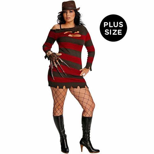 A Nightmare On Elm Street Miss Krueger 3-pc. DressUp Costume