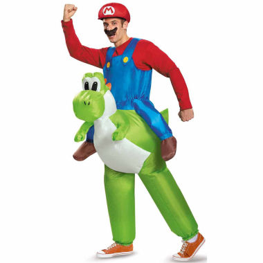 jcpenney.com | Super Mario Bros Mario Riding Yoshi Super Mario 2-pc. Dress Up Costume