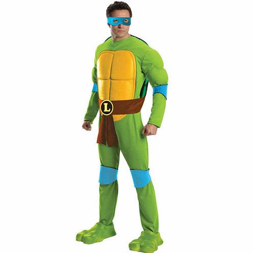 Teenage Mutant Ninja Turtles Deluxe Leonardo AdultCostume - Standard (One-Size)