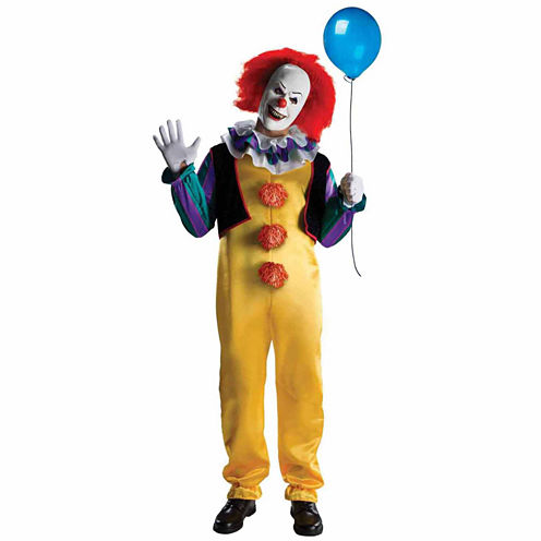 Buyseasons Stephen King'S It Pennywise Clown 2-pc. Dress Up Costume