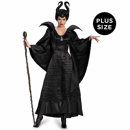 Maleficent Deluxe Christening Gown 3-pc. Disney Princess Dress Up Costume