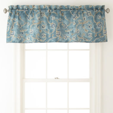 jcpenney.com | JCPenney Home Belcourt Rod-Pocket Valance