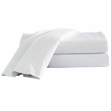 jcpenney.com | Hotel 24-pc. Easy Care Flat Sheet