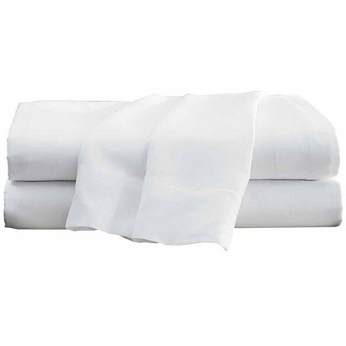 Hotel 24-pc. 300tc Easy Care Flat Sheet