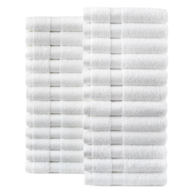 jcpenney.com | JCPenney Home™ Commercial Set of 24 Washcloths