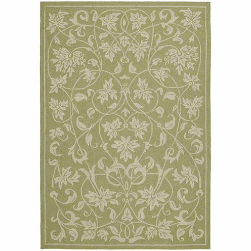 Kaleen Home And Porch Scroll Hand Tufted Rectangular Rugs