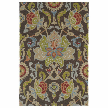 jcpenney.com | Kaleen Home And Porch Jacobean Hand Tufted Rectangular Rugs