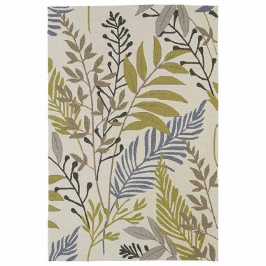 jcpenney.com | Kaleen Home And Porch Mod Leaf Hand Tufted Rectangle Accent Rug