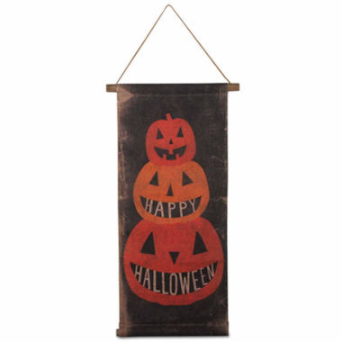 jcpenney.com | Tag Happy Halloween Scroll Tabletop Decor