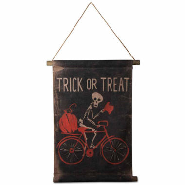 jcpenney.com | Tag Mr Bonez Halloween Scroll Tabletop Decor