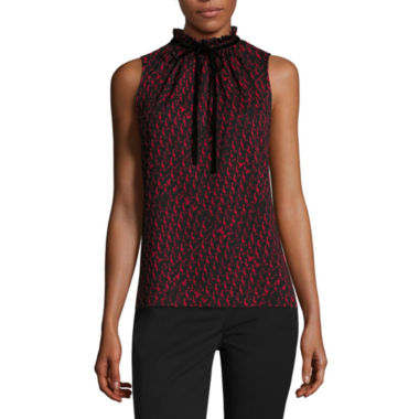 jcpenney.com | Worthington Sleeveless Mock Neck Knit Blouse-Talls