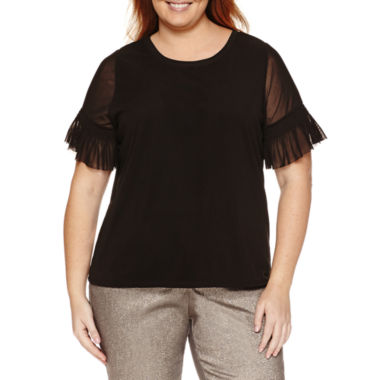 jcpenney.com | Worthington® Bell Sleeve Blouse - Plus